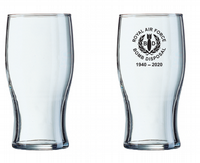 RAF Bomb Disposal Pint Glass (printed with ceremony date)
